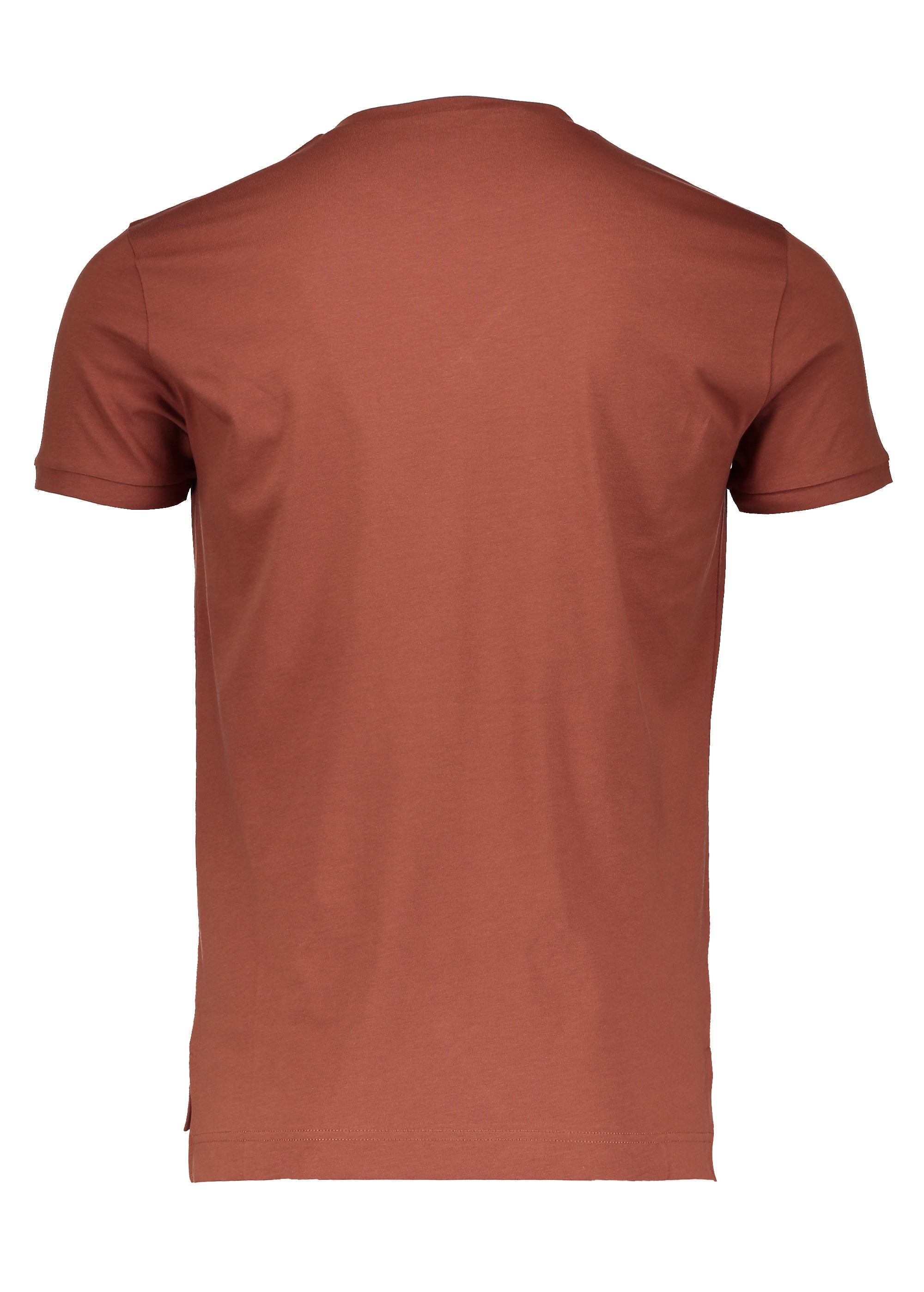 Embroidered Logo T Shirt Rust From Triads Uk