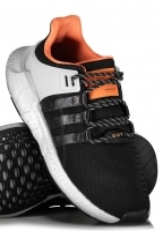 "Adidas Originals Footwear EQT Support 93/17 ""Welding"" - Black / Grey"
