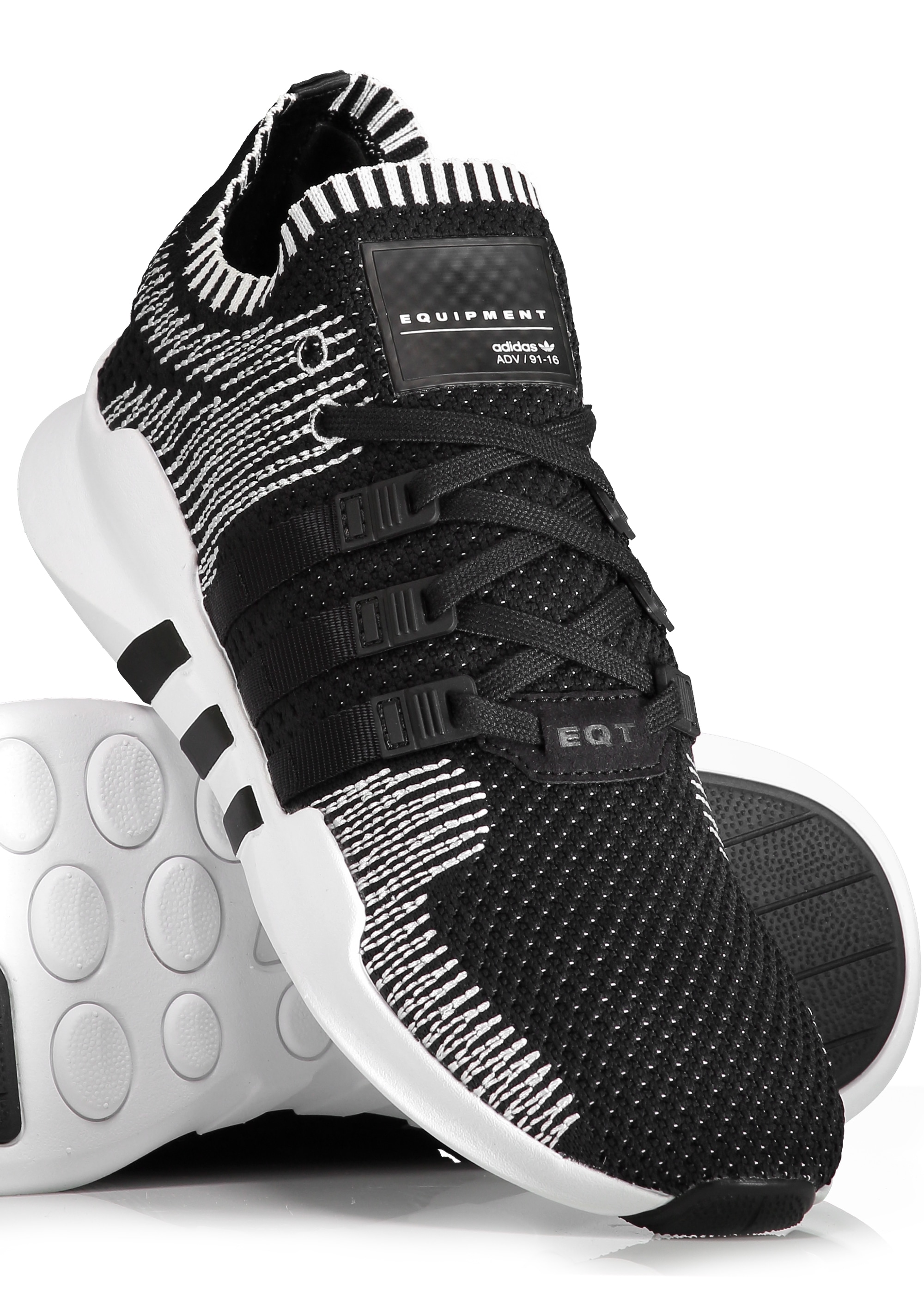 adidas originals footwear eqt support adv pk black. Black Bedroom Furniture Sets. Home Design Ideas
