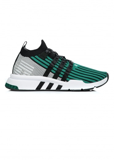Adidas Originals Footwear EQT Support Mid - Green / Black