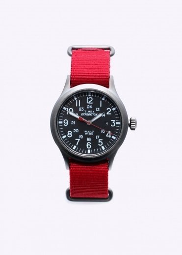 Timex Expedition Scout Watch - Red