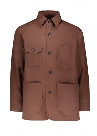 Monitaly Farmer Jacket - Brown