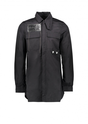 Filed Shirt - Black