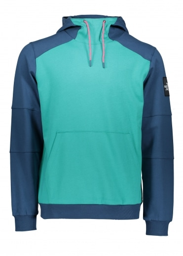 North Face Fine Box Hoodie - Porcelain Green