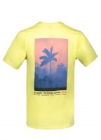 Fire Palm Tee - Lemon