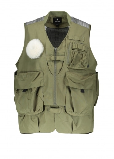 Snow Peak Fishing Vest - Olive