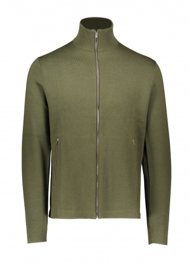 Norse Projects Fjord Tech Cardigan - Beech Green