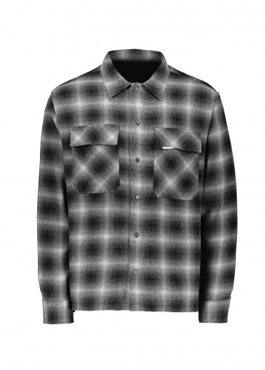 Represent Flannel Shirt - Black