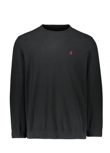 Gramicci Fleece Crew Neck - Black
