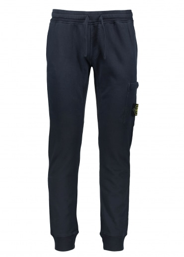Stone Island Fleece Pants - Navy Blue