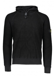 Stone Island Fleece Pullover - Black