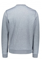 Fleece Sweatshirt - Navy Blue / Flour