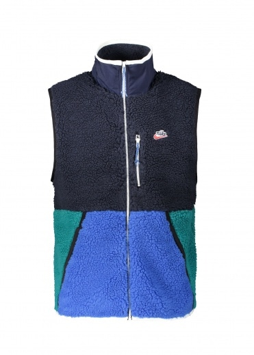 Nike Apparel Fleece Vest 451 - Obsidian / Royal