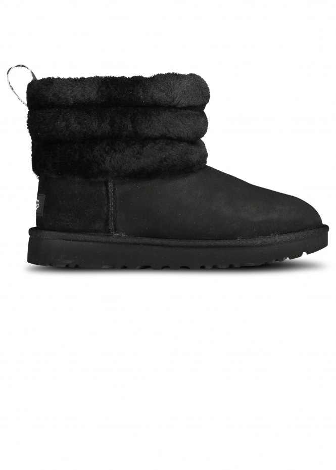 UGG Fluff Mini Quilted - Black