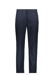 NN07 Foss Trousers - Navy Stripe