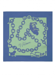Foulard 60 x 60 - Turquoise