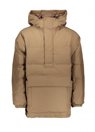 Snow Peak FR Down Pullover - Brown