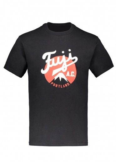 Ebbets Field Flannels Fuji Athletic Club 1935 Tee - Black