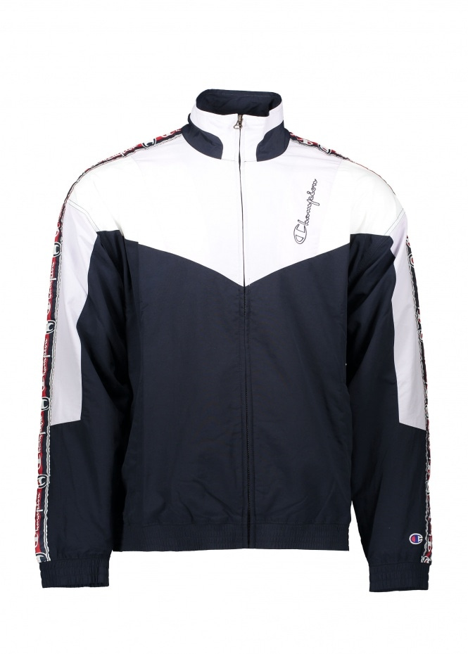 Champion Full Zip Top - Navy / Pink