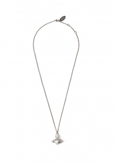 Vivienne Westwood Accessories Galileo Small Orb Pendant Whit