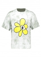 Perks and Mini Gesture Tie Dye Tee - Cloud