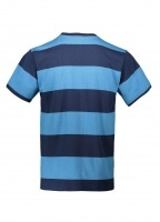 Good Measure M-4 SS Multi Stripe Tee - Navy