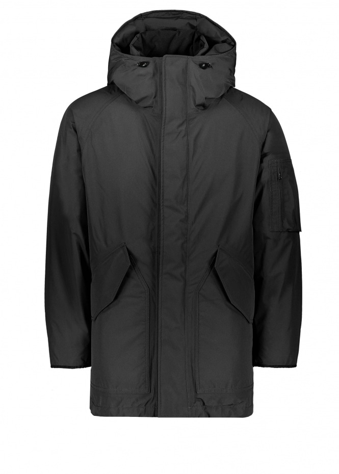 Gore Tex Down Coat - Black