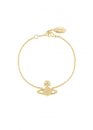 Vivienne Westwood Accessories Grace BR Bracelet - Yellow Gold