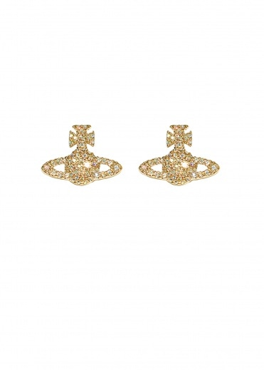 Vivienne Westwood Accessories Grace BR Stud Earrings - Gold Alternate