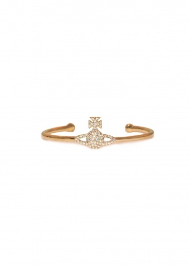 Vivienne Westwood Accessories Grace Open Bangle - Gold