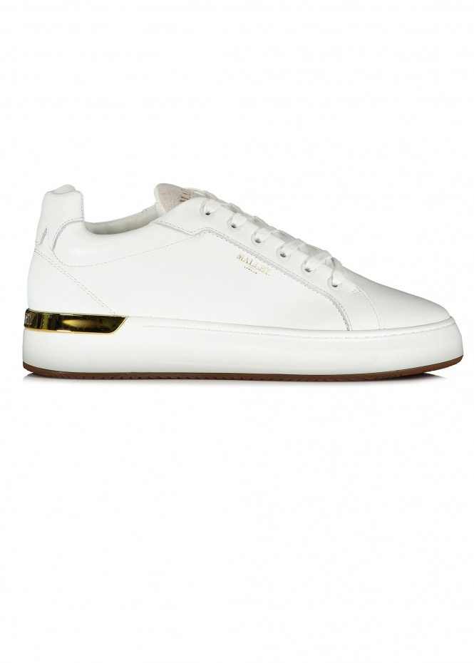 MALLET Grafter Trainers - White
