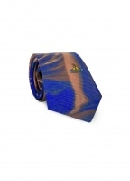 Graphic Tie - Blue