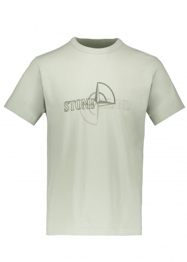 Stone Island Graphic Two Tee - Dust