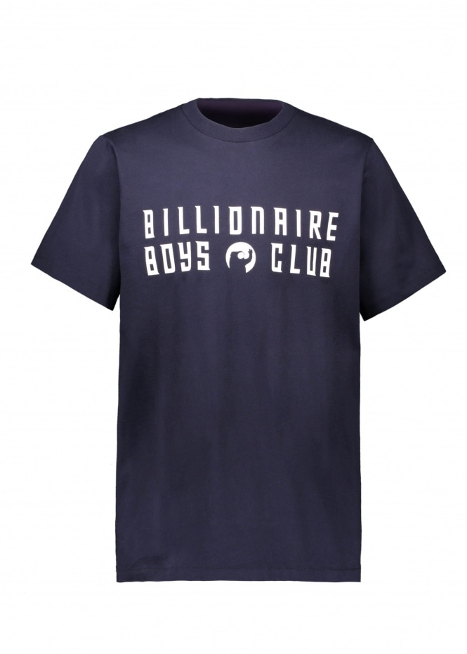Billionaire Boys Club Greetings Graphic Tee - Navy
