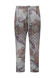 Engineered Garments Grey Paisley Jog Pants - Grey