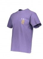 Groove Beats Pig. Dyed Tee - Purple