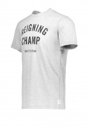 Gym Logo T-Shirt - Grey / Black