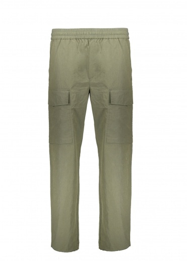 Wood Wood Halsey Tech Trousers - Dusty Green