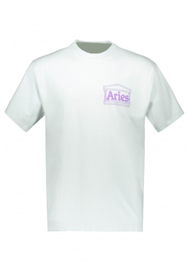 Aries Hands Off SS Tee - Baby Blue