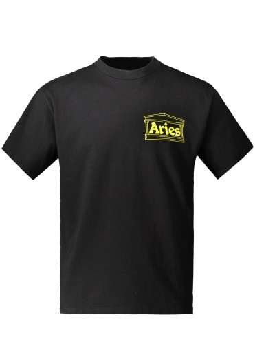 Aries Hands Off SS Tee - Black