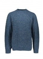 Shetland Woollen Co. Heavy Pullover - Atlantic