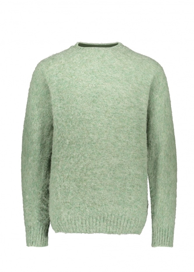 Shetland Woollen Co. Heavy Pullover - Laurel