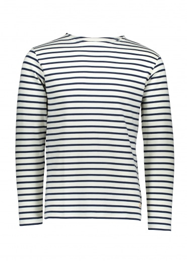 Armor Lux Heritage Breton Shirt LS - Nature/Dark Blue