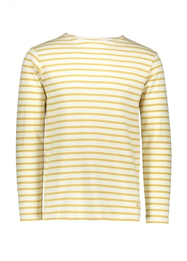 Armor Lux Heritage Breton Shirt LS - Nature/Yellow