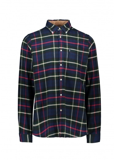 Barbour High Check 19 TF Shirt - Navy
