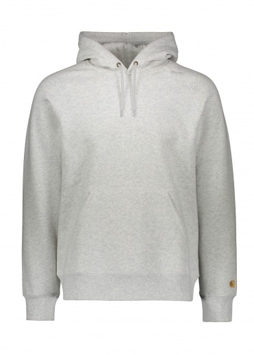 Carhartt Hooded Chase Sweat - Ash Heather