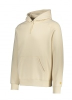 Carhartt Hooded Chase Sweat - Flour / Gold