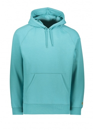 Carhartt Hooded Chase Sweat - Frosted Turquoise