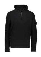 Hooded Knit - Black