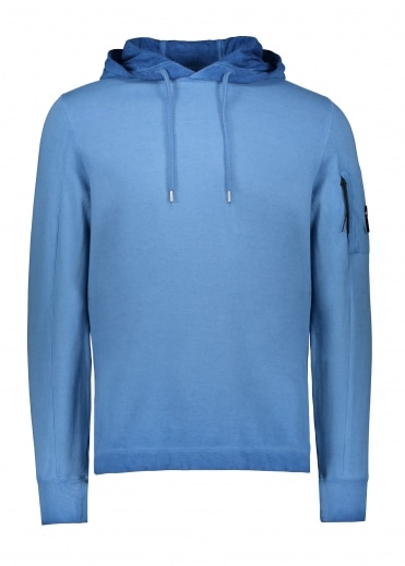 C.P. Company Hooded Sweat - Dazzling Blue